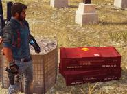 JC3 destructable ammunition crates (longer type)