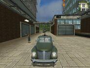 Hurst Buckaroo, Guerrilla version, patrol vehicle, front view.