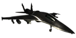 F-33 DragonFly Jet Fighter (Black Market)