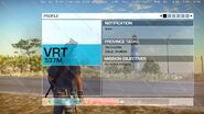 Just Cause 3 leaked screenshot (profile objectives menu)