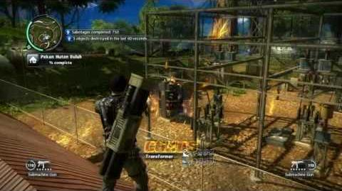 Just Cause 2- settlement completion- Pekan Hutan Buluh