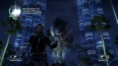 Just Cause 2- settlement completion- Panau Falls Casino