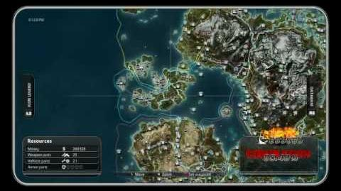 MINI UFO!!! Easter egg - Just Cause 2