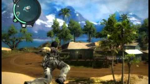 Just Cause 2 - Pulau Penjala - civilian village