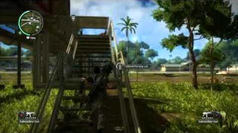 Just Cause 2- settlement completion- Kampung Kosa Besar