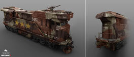 JC3 locomotive concept art