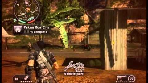 Just Cause 2 - Pekan Gua Cina - civilian village