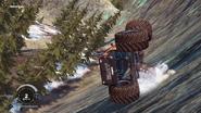 Incendiario Monster Truck (sliding down hill)