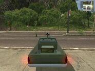Shimizu Tumbleweed, Guerrilla version, (patrol), rear view.