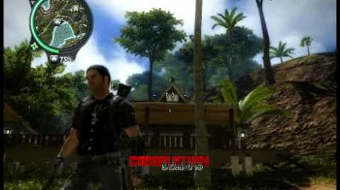 Just Cause 2 - Bandar Lembah Raja - civilian village