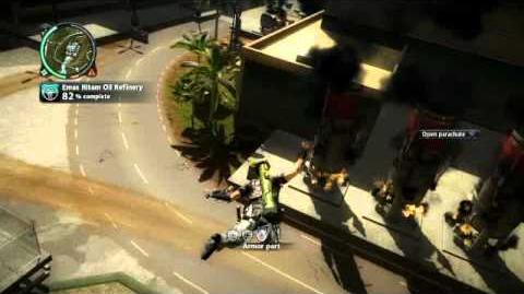 Just Cause 2- settlement completion- Emas Hitam Oil Refinary