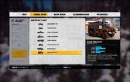 Urga Fura 570 Rebel Drop menu