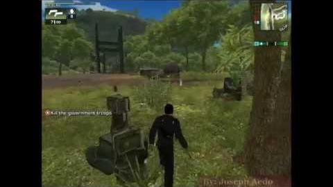 Mision Freedom Fighters - Just Cause 1