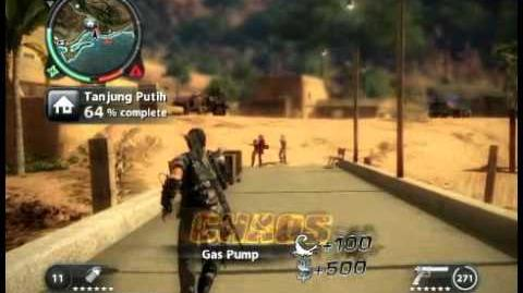 Just Cause 2 - Tanjung Putih - civilian village
