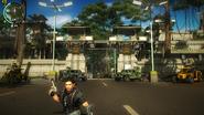 Kem Hutan main gate