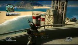 Just Cause 2- settlement completion- Kampung Padang Luas 15
