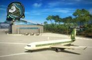 Aeroliner 474 panau intl airport