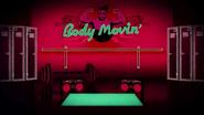 Body movin back