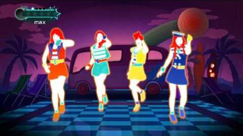 "(ジャストダンス2) JUST DANCE WII 2 KARA ""Go Go Summer!"""