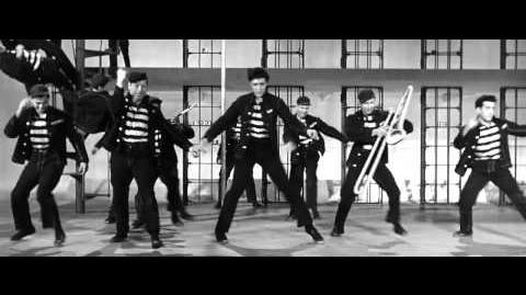 Elvis Presley. Jailhouse Rock.( From the movie Jailhouse Rock.1957.) HD.