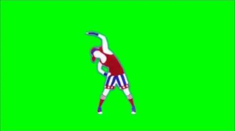 Just Dance Now - Eye Of The Tiger Green Screen Extraction