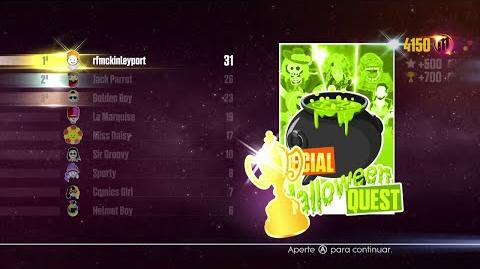 Just Dance 2016 - JD Unlimited Quest (Special Halloween Quest - Dance Master) - 4 4