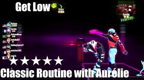 """Get Low"" - Just Dance 2015 - Classic Routine with Aurélie 5* Stars"