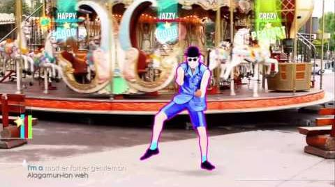 Just Dance 2017 gentleman