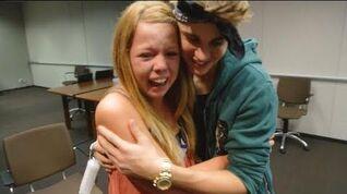 Justin Bieber Surprises Lucky Fans! - Just Dance 4