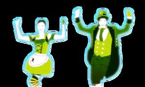Come on half dancers