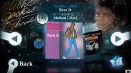 Beat It MJ menu