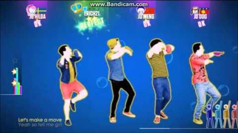 Just Dance 2015 - Kiss You - One Direction