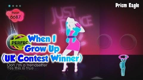Just Dance 2 - When I Grow Up (UK Contest Winner)