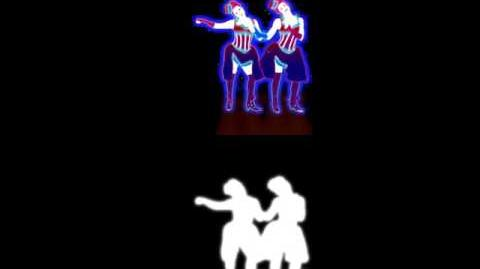 Just Dance 3 Extract Giddy on Up (Giddy on Out) (Hold My Hand)