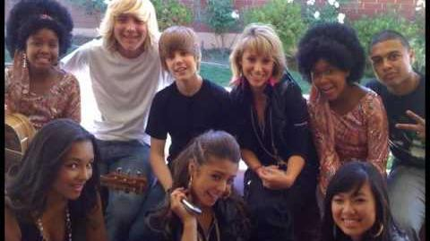 Justin Bieber School Gyrls movie behind the scenes photos