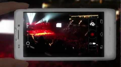 Motorola Brings You Row M Live from the Justin Bieber Believe Tour - Tecnologia Livre