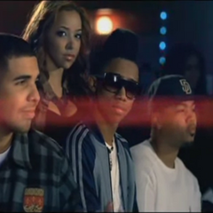 Drake as cameo on the music video