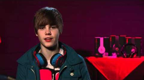 Justin Bieber Speaks on His Limited Edition Purple iBeats Concert Footage