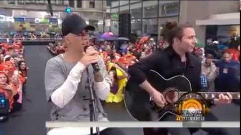 Justin Bieber - baby (Acoustic Version) LIVE Today Show 09 10 15