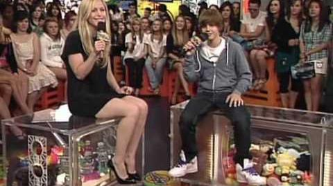 Justin Bieber on MuchOnDemand - Wednesday July 8th, 2009 (Part 1 of 2)