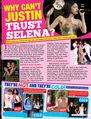 Tiger Beat December 2011 Selena & Justin