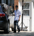 Selena Gomez leaves Justin Bieber's grandparents' house 9