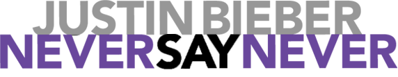 Never Say Never logo