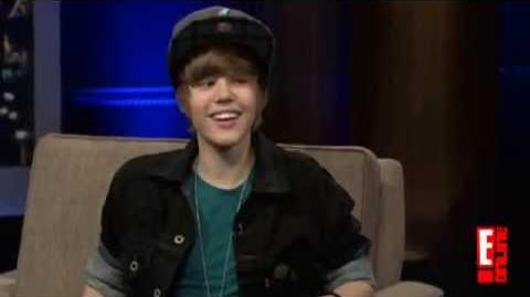 Justin Bieber Wink, Nod, Smile Interview