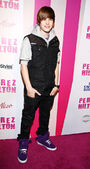 Justin Bieber arrives at Perez Hilton 32nd Birthday Party