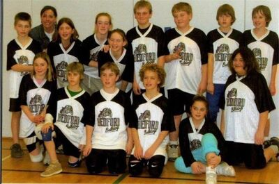 6th grade volleyball team