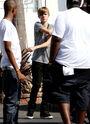 Justin Bieber in Los Angeles 2010