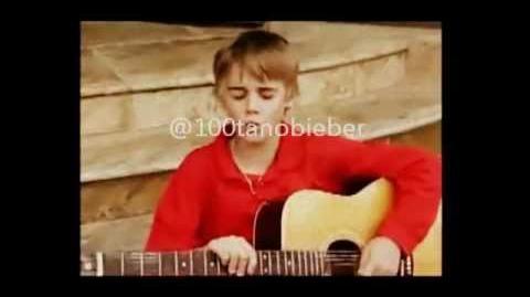(Video Raro) Justin Bieber no avon Theatre
