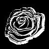 Purpose Singles sticker rose tattoo