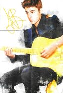 Believe Acoustic booklet poster